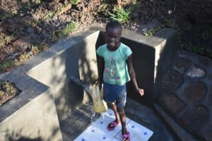The Water Project: Khaunga A Community, Murutu Spring -  Happy Face