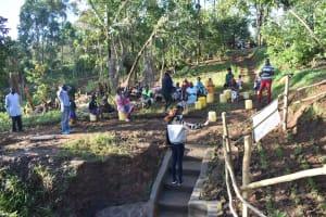 The Water Project: Khaunga A Community, Murutu Spring -  Site Management Training
