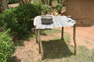 The Water Project: Ematetie Community, Amasetse Spring -  Dishrack