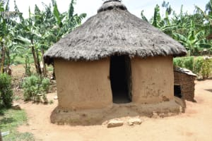 The Water Project: Ematetie Community, Amasetse Spring -  Kitchen Outside