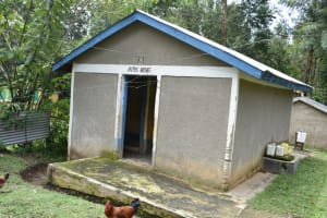 The Water Project: Rise and Shine Special School for the Physically Handicapped -  Boys Latrines