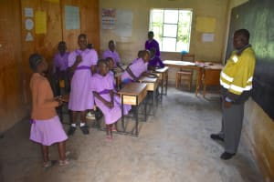 The Water Project: Rise and Shine Special School for the Physically Handicapped -  Students In Class