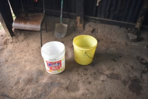 The Water Project: Rise and Shine Special School for the Physically Handicapped -  Water Storage Containers