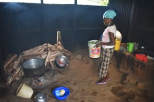 The Water Project: Rise and Shine Special School for the Physically Handicapped -  Preparing Food Inside The Kitchen