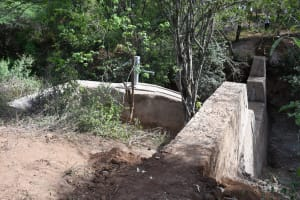 The Water Project: Kangalu Community C -  Complete Dam And Well