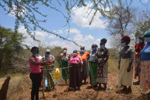 The Water Project: Kangalu Community B -  Handwashing Session