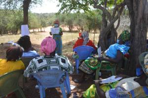 The Water Project: Kangalu Community B -  Hygiene Training Session