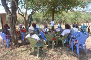 The Water Project: Kangalu Community B -  Hygiene Training