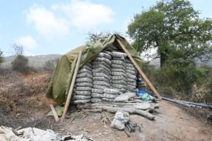 The Water Project: Syonzale Community -  Cement Bags