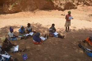The Water Project: Syonzale Community -  Community Participation In The Training