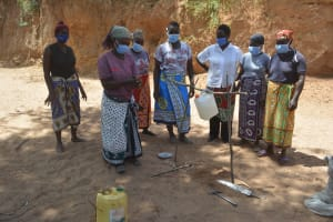 The Water Project: Syonzale Community -  Tippy Tap Demonstration