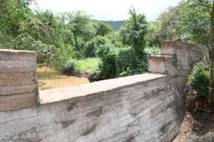 The Water Project: Syonzale Community -  Complete Dam