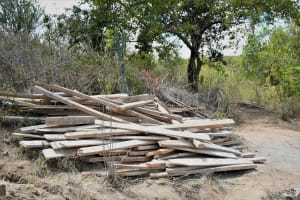 The Water Project: Kaketi Community C -  Boards For Construction