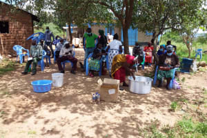 The Water Project: Kaketi Community C -  People At The Training