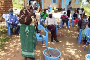The Water Project: Kaketi Community C -  Soap Making Activity