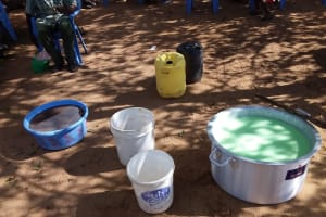 The Water Project: Kaketi Community C -  Supplies For Making Soap