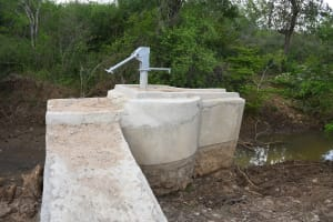 The Water Project: Kaketi Community C -  Complete Well