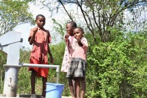The Water Project: Kaketi Community C -  Thumbs Up