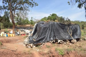 The Water Project: Kithalani Community -  Construction Materials