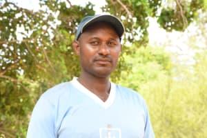 The Water Project: Kithalani Community -  David Musyoka