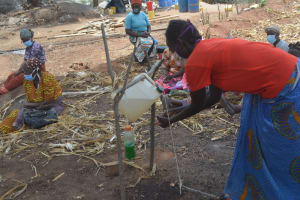 The Water Project: Kithalani Community -  Handwashing Demonstration