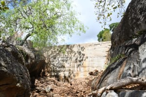 The Water Project: Kithalani Community -  Completed Dam