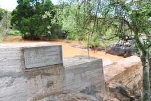The Water Project: Kithalani Community -  Dam
