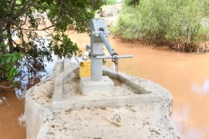 The Water Project: Kithalani Community A -  Completed Well