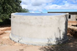 The Water Project: Mung'alu Primary School -  Complete Tank
