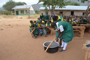 The Water Project: Mung'alu Primary School -  Mixing Soap