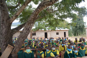 The Water Project: Mung'alu Primary School -  Students At The Training