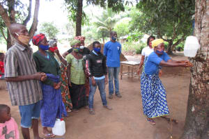 The Water Project: Rosint Community, #24 Poultry St -  Handwashing Demonstration
