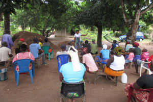 The Water Project: Rosint Community, #24 Poultry St -  Hygiene And Sanitation Training