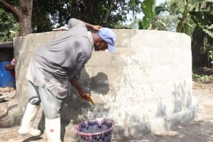 The Water Project: Rosint Community, #24 Poultry St -  Pad Construction