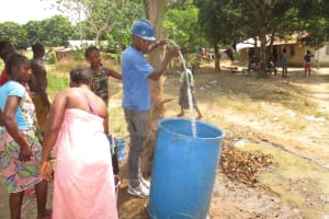 The Water Project: Rosint Community, #24 Poultry St -  Yield Test