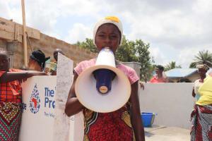 The Water Project: Kamasondo, Borope Village, Main Motor Rd. Junction -  Aminata K