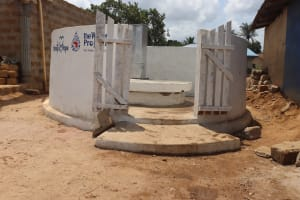The Water Project: Kamasondo, Borope Village, Main Motor Rd. Junction -  Completed Well