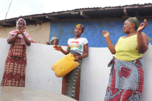 The Water Project: Kamasondo, Borope Village, Main Motor Rd. Junction -  Dedication Celebration