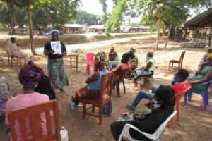 The Water Project: Kamasondo, Borope Village, Main Motor Rd. Junction -  Hygiene Training