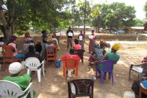 The Water Project: Kamasondo, Borope Village, Main Motor Rd. Junction -  Participants At The Training