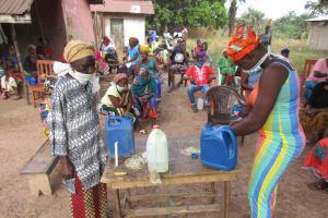 The Water Project: Kamasondo, Borope Village, Main Motor Rd. Junction -  Tippy Tap Construction