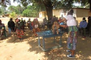 The Water Project: Kamasondo, Robombeh Village, Next to Mosque -  Teaching About Diarrhea