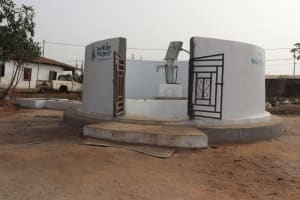 The Water Project: Lungi, Rotifunk, Paramount Chief's Compound -  Finished Project
