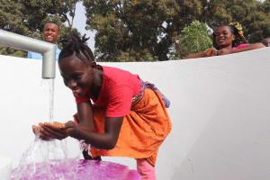 The Water Project: Lungi, Rotifunk, Paramount Chief's Compound -  Girl At The Well