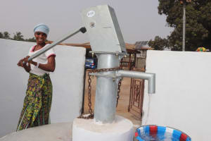 The Water Project: Lungi, Rotifunk, Paramount Chief's Compound -  Pumping Well