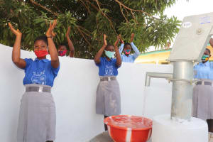 The Water Project: Kankalay Primary and Secondary School -  Dedication Celebration