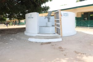 The Water Project: Kankalay Primary and Secondary School -  Finished Project