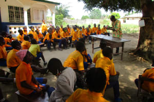The Water Project: Kankalay Primary and Secondary School -  Oral Healthcare Section