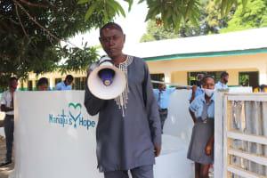 The Water Project: Kankalay Primary and Secondary School -  Principal James H Kamanda