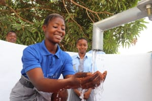 The Water Project: Kankalay Primary and Secondary School -  Reliable Water